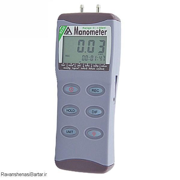 محصول مانومتر دیجیتالی تفاضلی مدل AZ8230