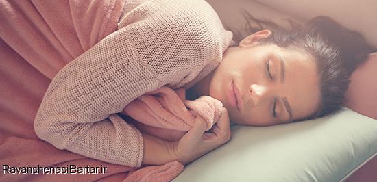 راهنمای خوابیدن در چند ثانیه
